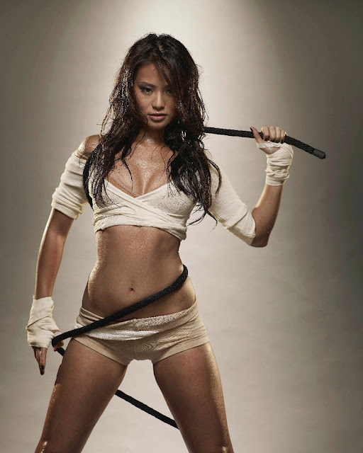 American actress Jamie Chung Hot Picture Collection