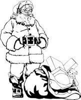malvorlagen nikolaus ausdrucken - Ausmalbilder Nikolaus auf Schlitten - Weihnachten