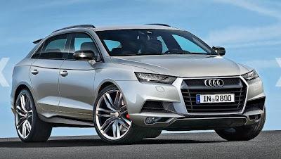Futur modèle : L'Audi Q8 confirmé