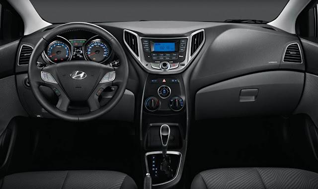 Hyundai HB20S Sedã 1.6 Premium - interior - painel