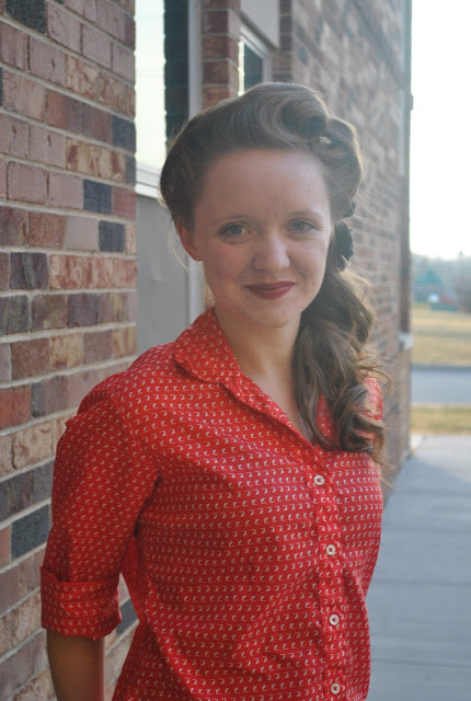 Flashback Summer:  Rose Red and Victory Rolls