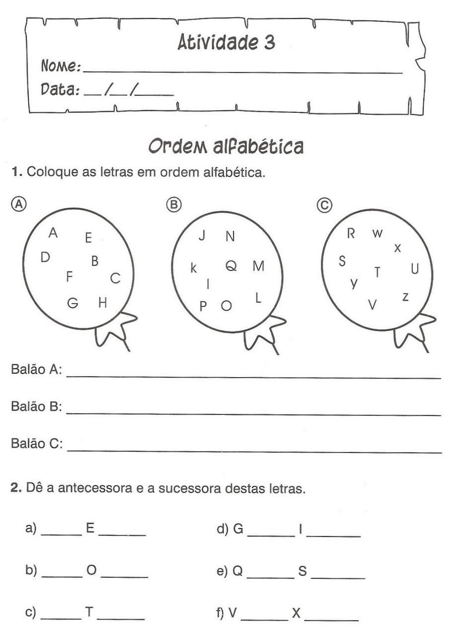 Atividades De Portugu  S 3   4   5   Anos Ens Fundamental