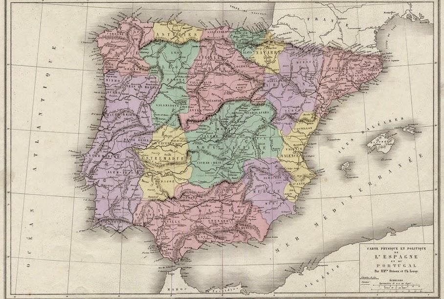 España y Portugal 1879 Leroy Ch. Drioux