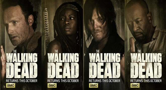 'The Walking Dead' Estreno de la Sexta Temporada