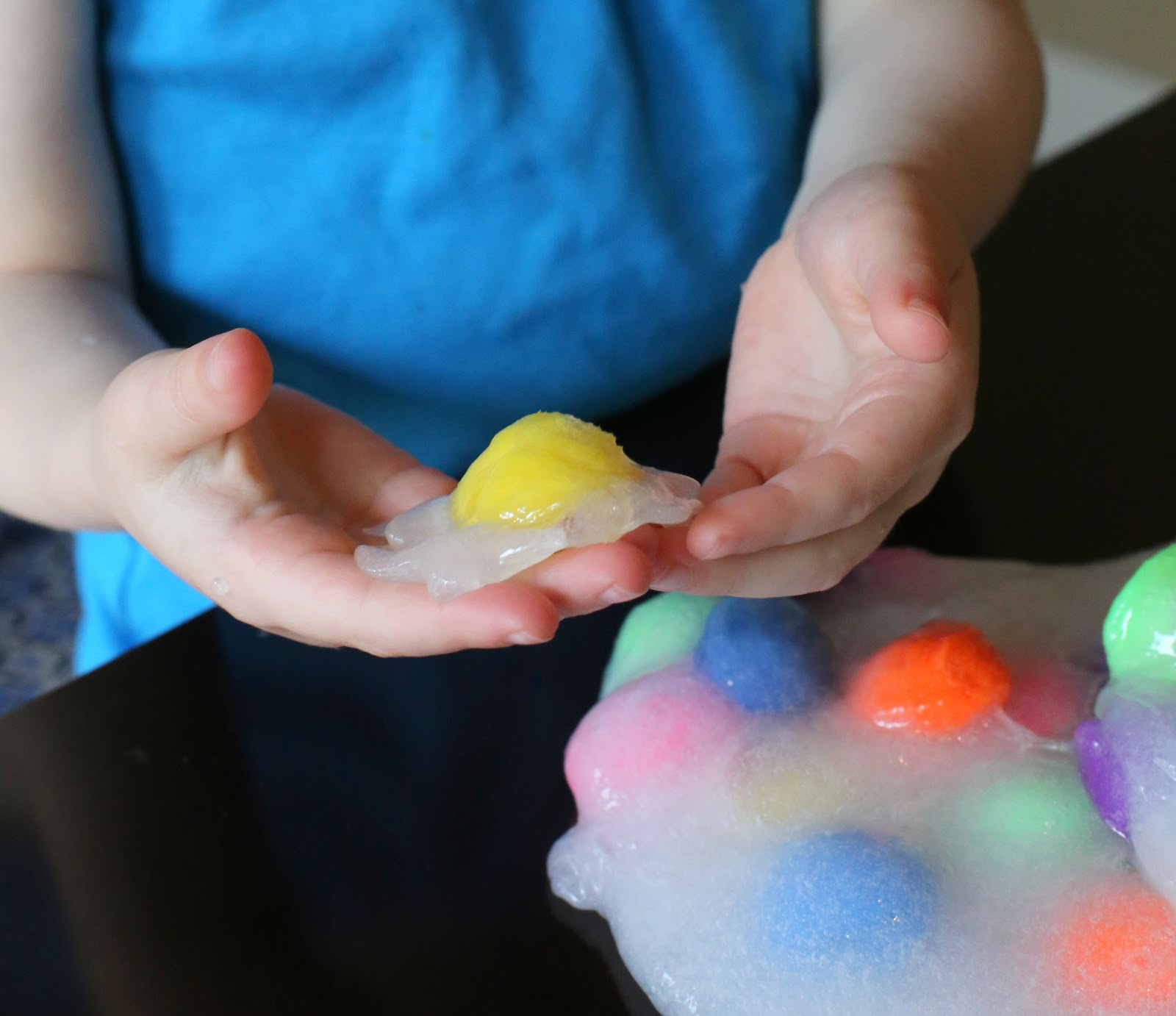 Polka Dot Slime From Fun At Home With Kids