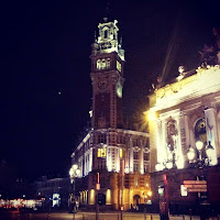 Lille bei Nacht