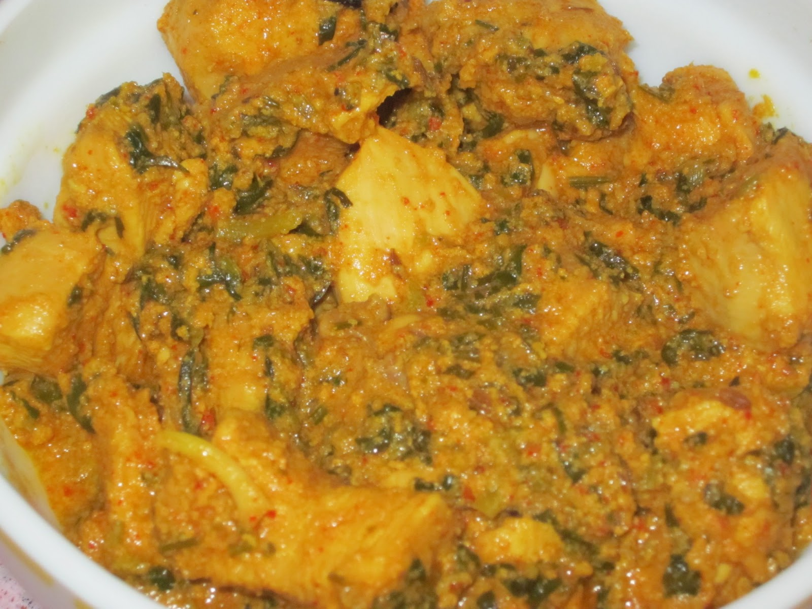 Methi Murgh - Chicken Curry with Fenugreek Leaves