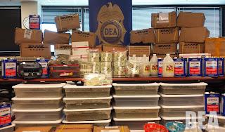 A DEA drug seizures.