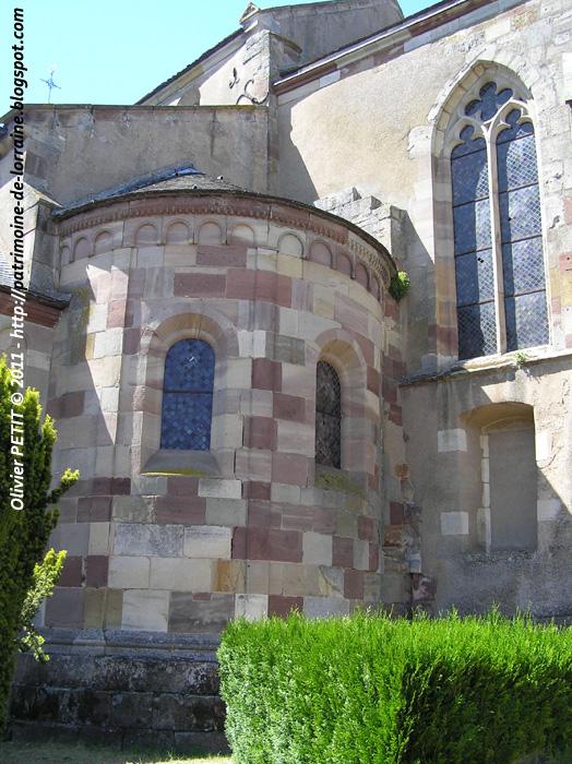 MARSAL (57) - La collégiale Saint-Léger (Extérieur)