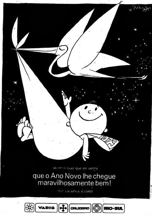 Propaganda de Fim de Ano Varig  apresentada em 1979.