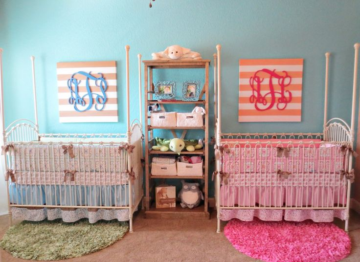 Lovely Deco Chambre Jumeaux Fille Garcon #4: Chambre ...