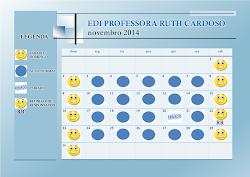 Calendário Escolar Novembro 2014