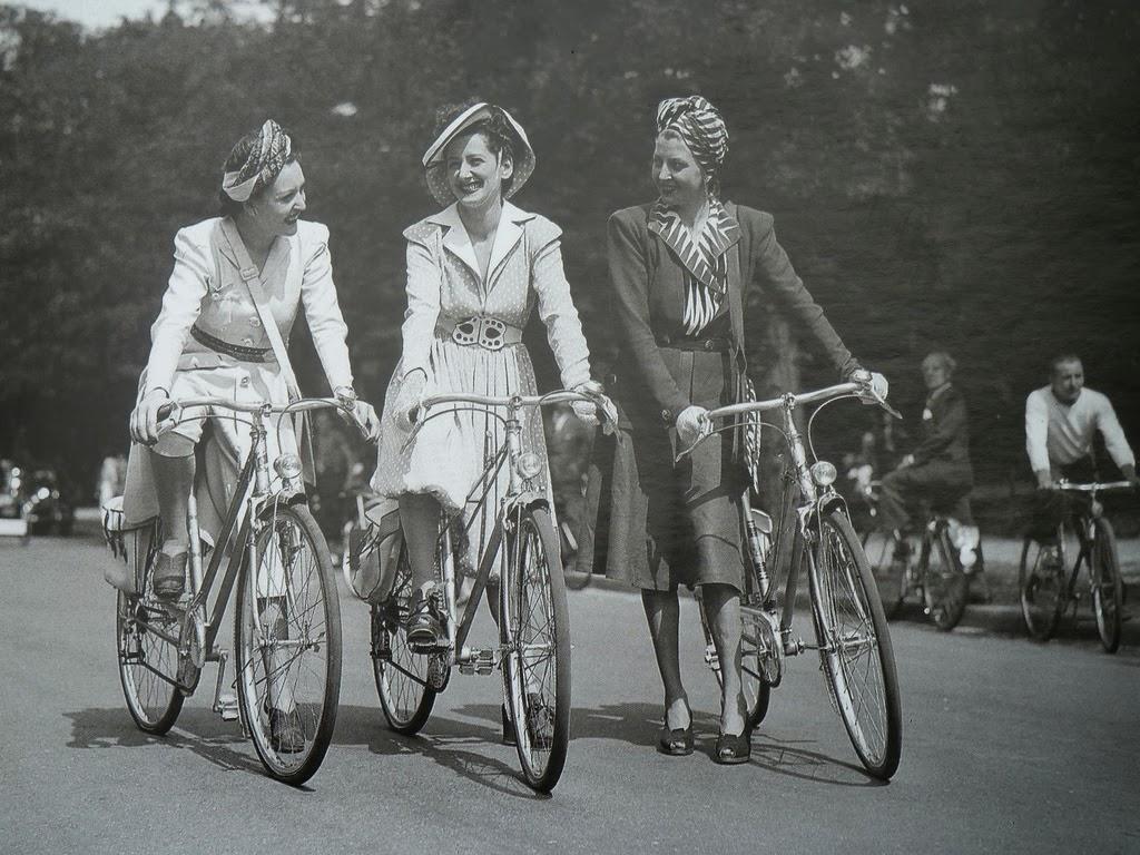 Vintage Bicycles Paris Ca 1940s Vintage Everyday