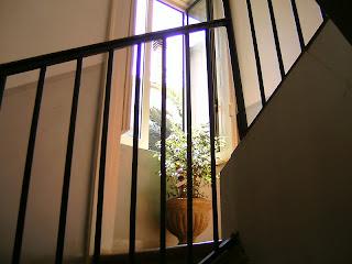scala di entrata principale