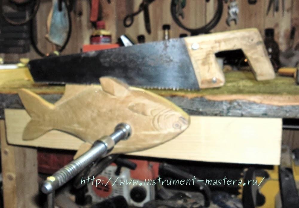 Приспособление для крепления заготовки при резьбе по дереву