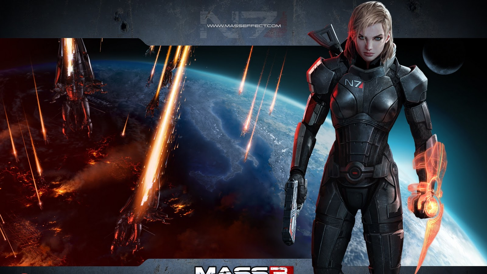 wallpapers photo art mass effect 3 hd wallpapers game
