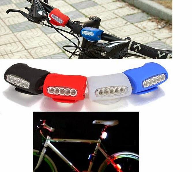 CHOO HO LEONG (CHL) Bicycle: 7 LED Silicone Bike Lights