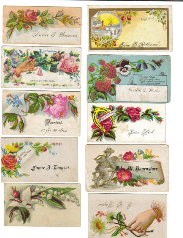 Hurt the Bunnies: Victorian Calling Cards