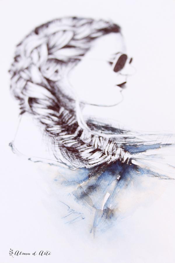 Dibujo con plumilla y tinta