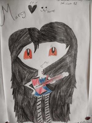 Marceline (Dibujo mio animee)