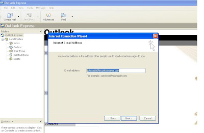 Email Id Outlook Express