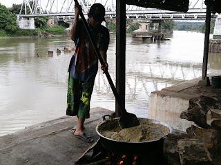 proses pembuatan lempok durian