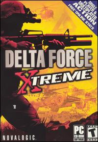 Delta Force Xtreme Game Poster | Delta Force Xtreme Game Cover