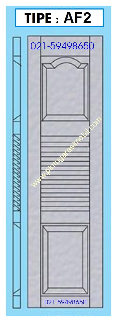 Model Pintu Garasi AF2
