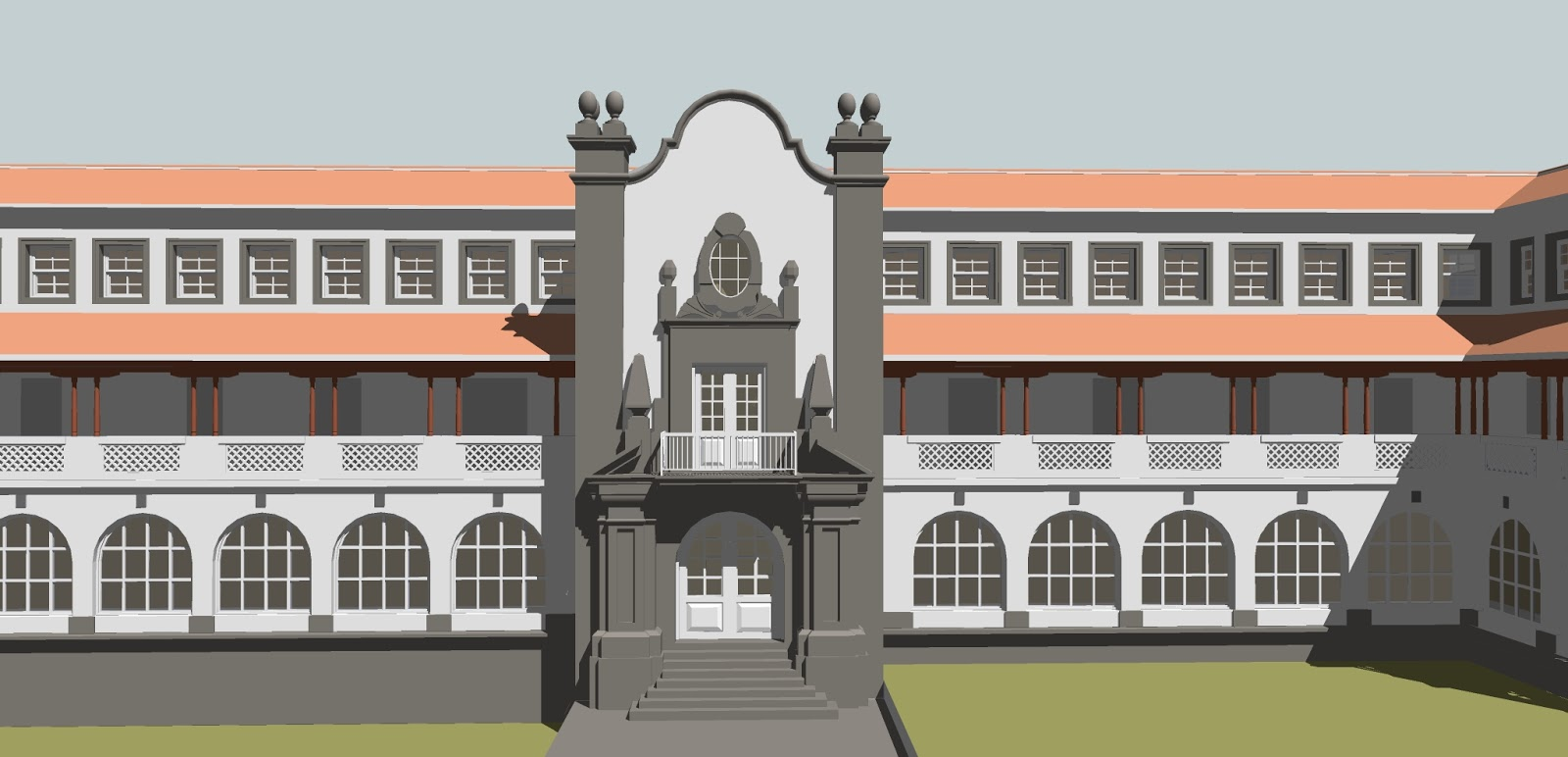 Arquitectura hist rica en tenerife espa a colegio mayor - Colegio aparejadores tenerife ...