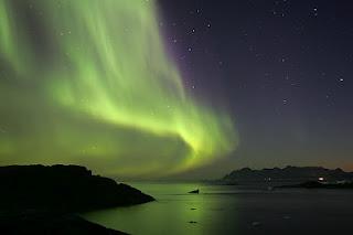 Aurora Borealis - 9 tempat paling pelik di dunia