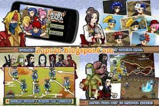 games android ninja saga