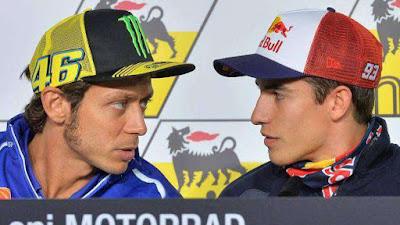 Marquez Ingin Baikan, Kenapa Rossi Begitu Cuek?