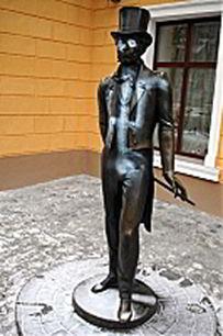 памятник,Пушкин,свастика,металл, Одесса, фото,картинки,вандал,Femen