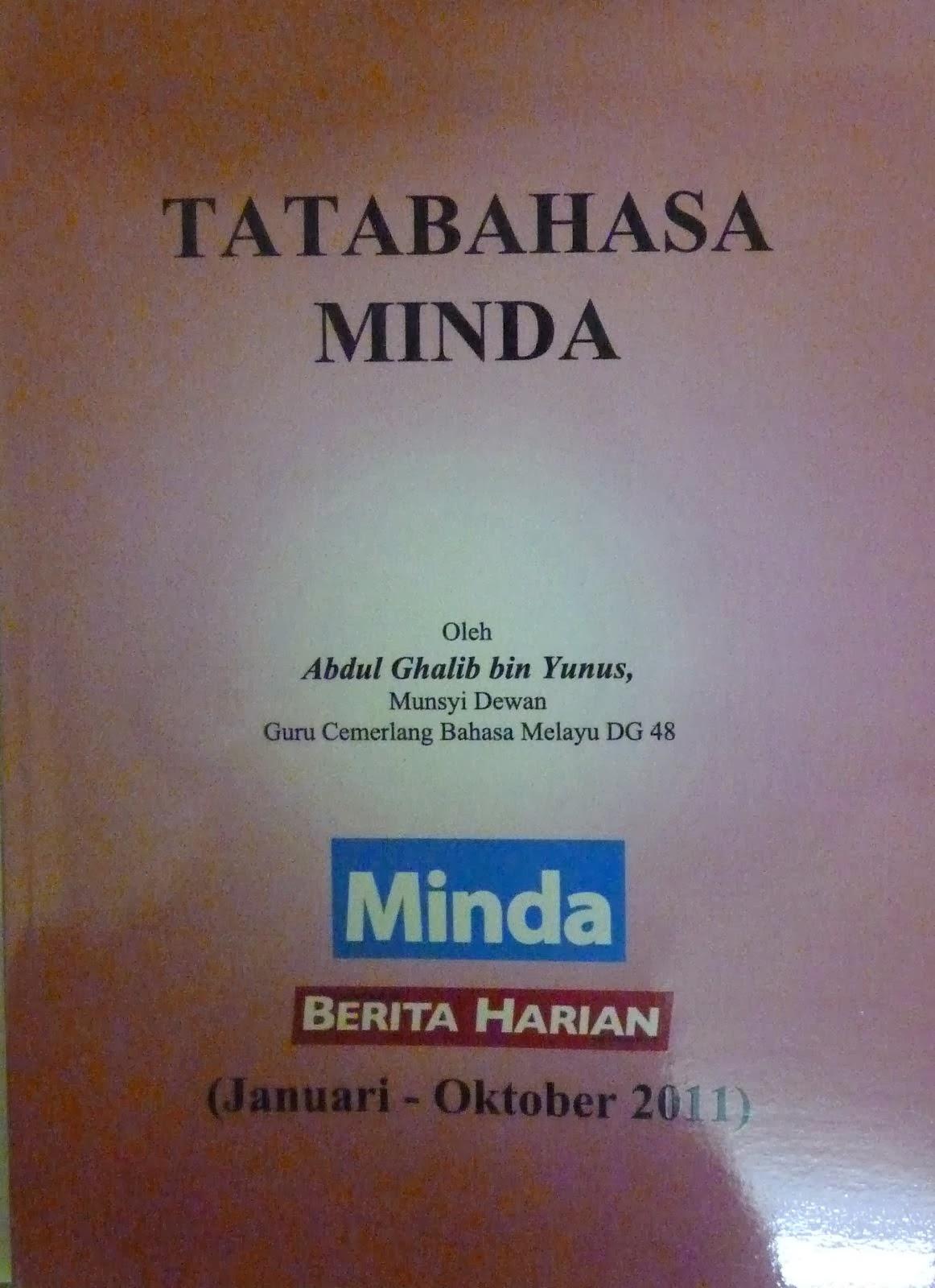 Buku `Tatabahasa Minda'(2011)