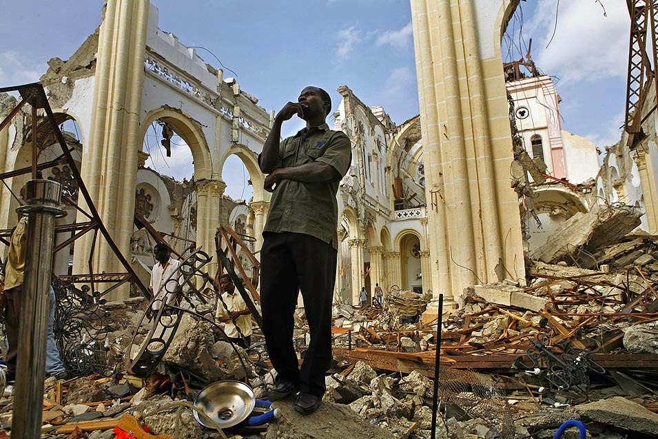 Haiti in ruins after huge earthquake