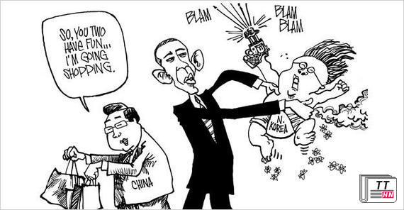 Trung Quốc bí mật dồn quân đến sát Triều Tiên