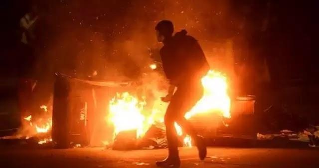 Διαδηλώσεις και επεισόδια στις ΗΠΑ κατόπιν εντολής στα μιασματα  τύπου κομμουνιστες αντιεξουσιαστές  σε μη Εβραίους μετά την εκλογή Τραμπ (Βίντεο)!
