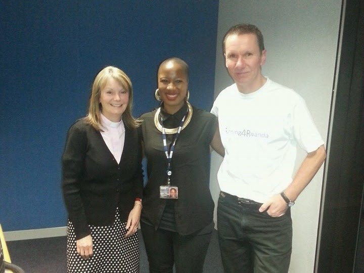 On Radio Merseyside talking about running Liverpool Santa Dash to support Maternal Health and Safe Motherhood in Rwanda
