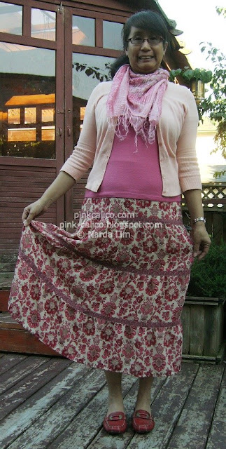 Pink Calico: Ann Taylor Loft Skirt