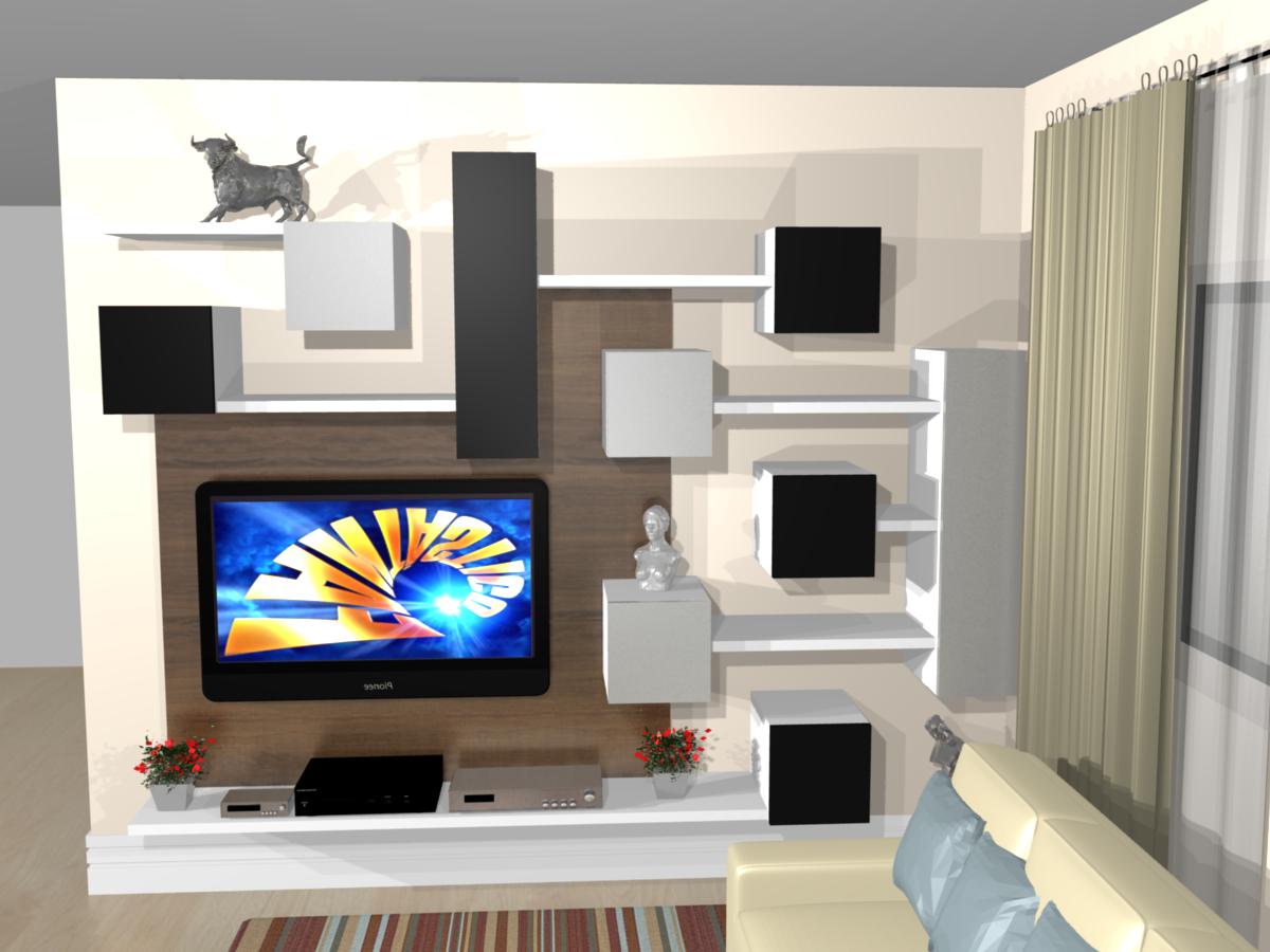 Estante Para Tv Moderna Fonte With Estante Para Tv Moderna Painel  -> Estantes Para Sala De Tv Lcd