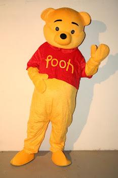 Mascote Ursinho Pooh