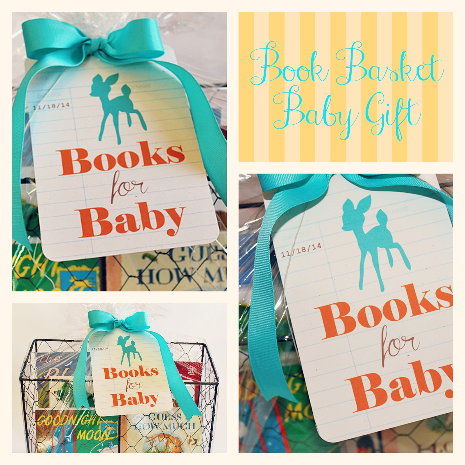 ink about me baby shower gift basket, Baby shower