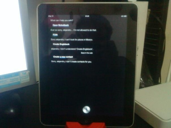 instaled Siri On iPad 2