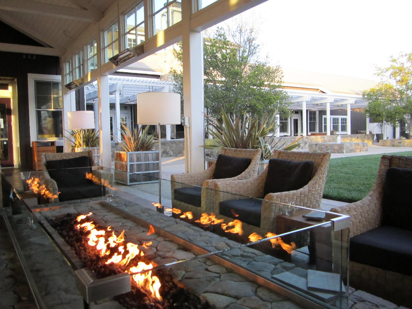 Image result for farm, fireplace at carneros inn
