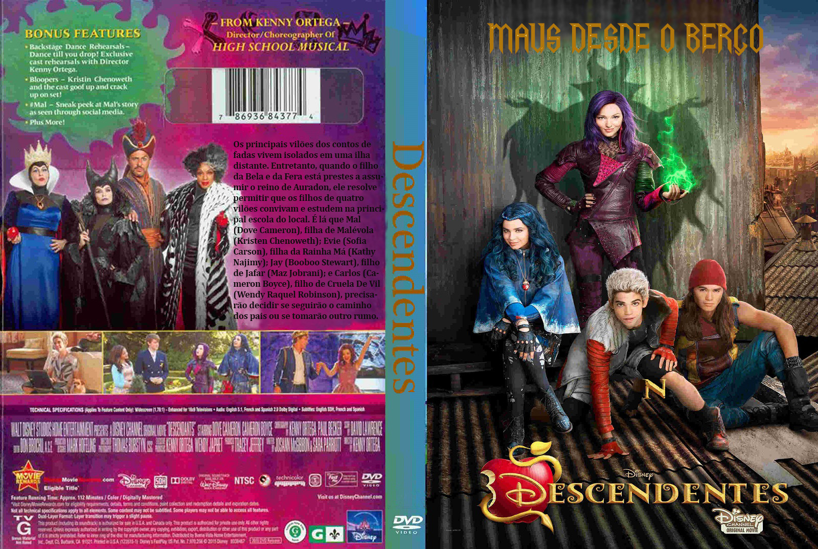 Baixar Descendentes DVDRip XviD Dual Áudio DESCENDENTES 2BCap1