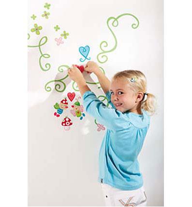 Decoraci n paredes de dormitorios de ni os con stickers - Paredes para ninos ...
