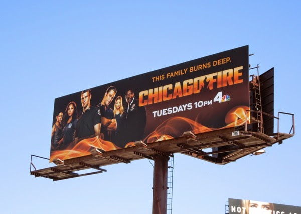 Chicago Fire season 3 billboard