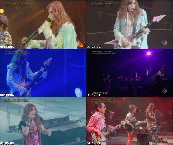 [TV-Variety] THE ALFEE 40th Anniversary 2014 40年目の夏 (M-ON! 2016.10.24)