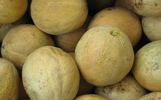 ripe cantaloupes
