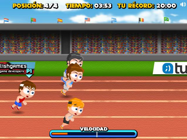 Tuenti Sports Atletismo 100m